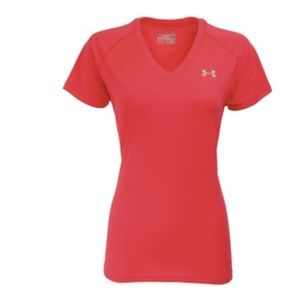 Under Armour UA Short Sleeved V-Neck Workout Tee